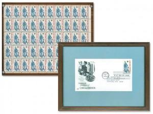 Stamps & Envelope